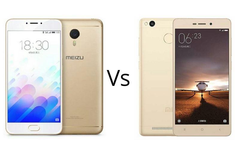 Xiaomi Redmi Note 3 vs. Meizu M3 Note