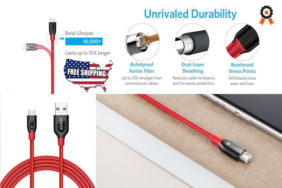 De ce este cablul Anker PowerLine Lightning cel mai rezistent?