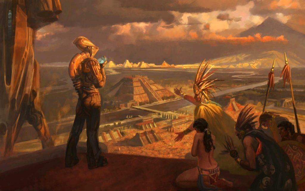 Trei texte antice care sugereaza ca fiintele extraterestre au vizitat Pamantul in trecutul indepartat