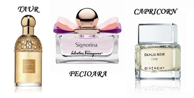 Parfumuri potrivite pentru femei in functie de zodie